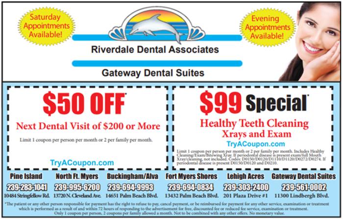 Riverdale Dental Coupon